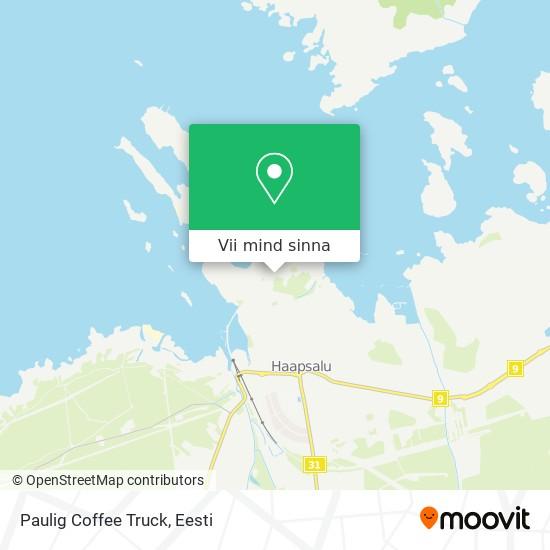 Paulig Coffee Truck kaart