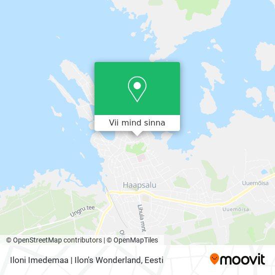 Iloni Imedemaa   Ilon's Wonderland kaart