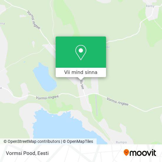 Vormsi Pood kaart