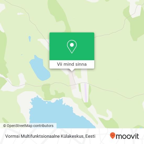 Vormsi Multifunktsionaalne Külakeskus kaart