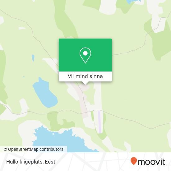 Hullo kiigeplats kaart