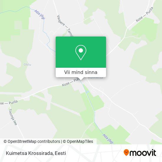 Kuimetsa Krossirada kaart