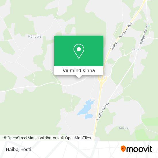 Haiba kaart