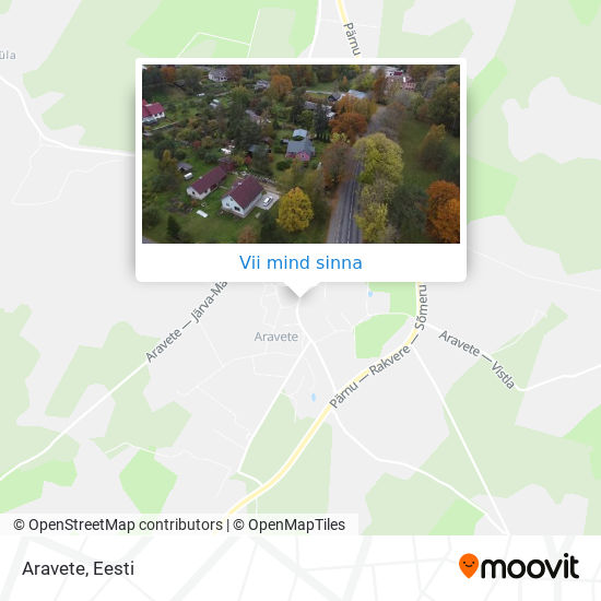 Aravete kaart