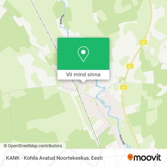 KANK - Kohila Avatud Noortekeskus kaart