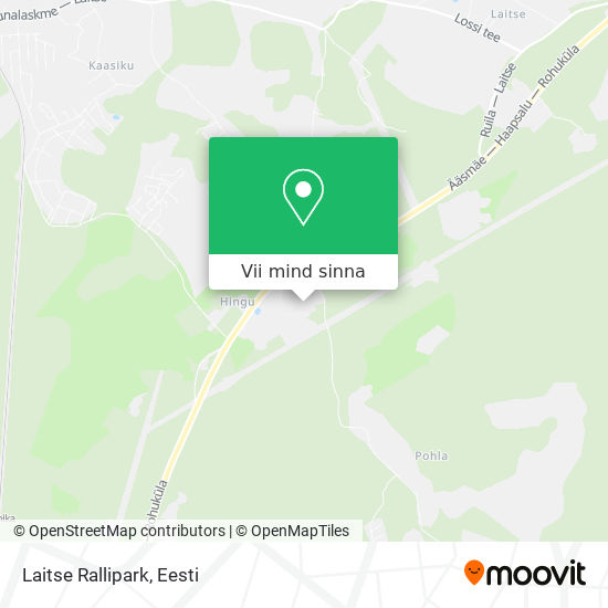 Laitse Rallipark kaart