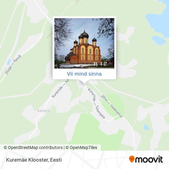 Kuremäe Klooster kaart