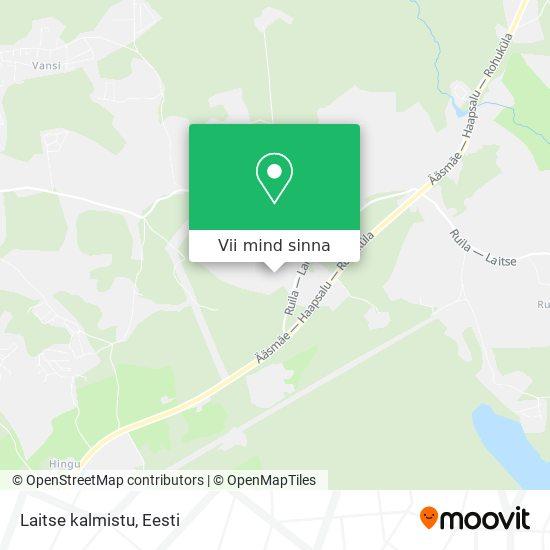 Laitse kalmistu kaart