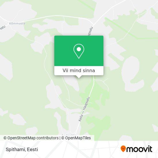 Spithami kaart