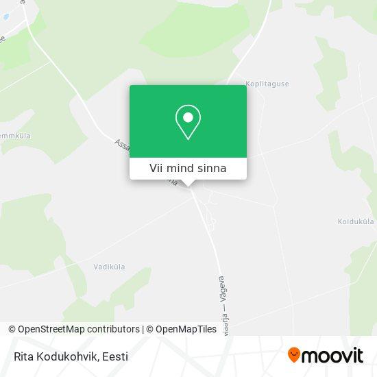 Rita Kodukohvik kaart