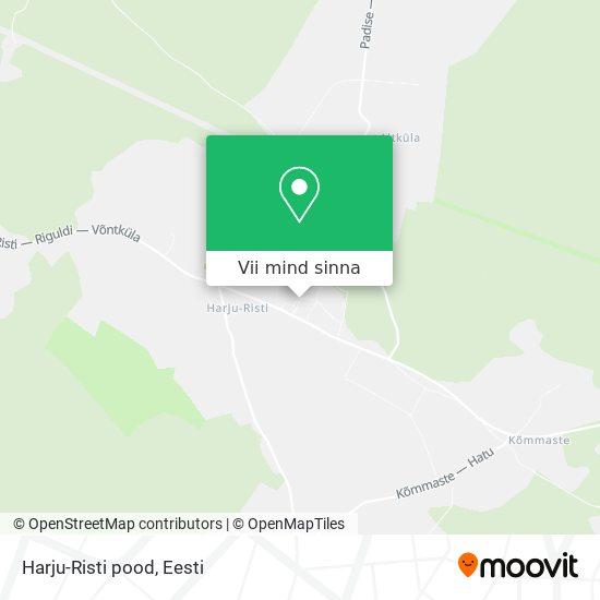 Harju-Risti pood kaart