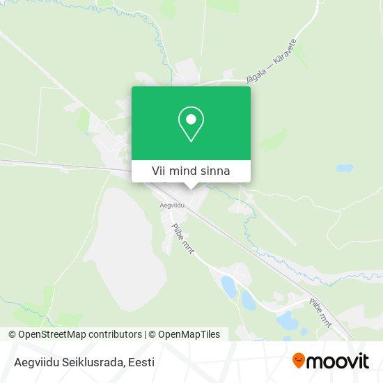 Aegviidu Seiklusrada kaart