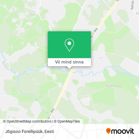 Jõgisoo Forellipüük kaart