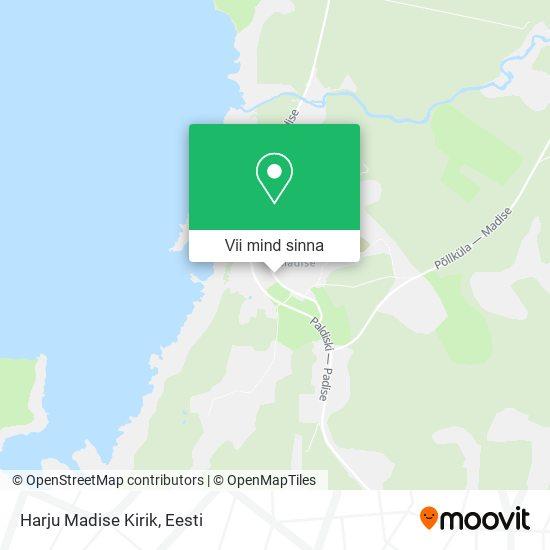 Harju Madise Kirik kaart
