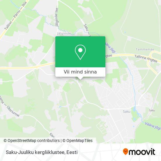 Saku-Juuliku kergliiklustee kaart