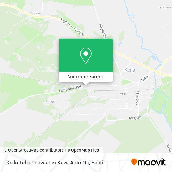 Keila Tehnoülevaatus Kava Auto Oü kaart