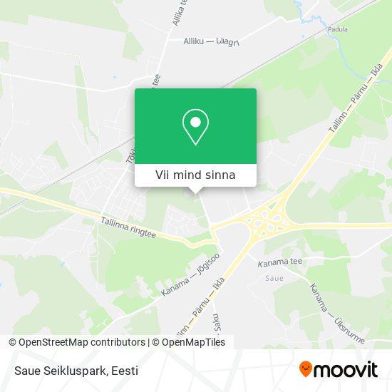 Saue Seikluspark kaart