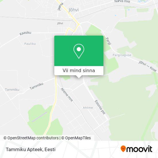 Tammiku Apteek kaart