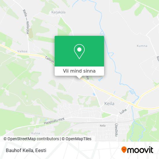 Bauhof Keila kaart