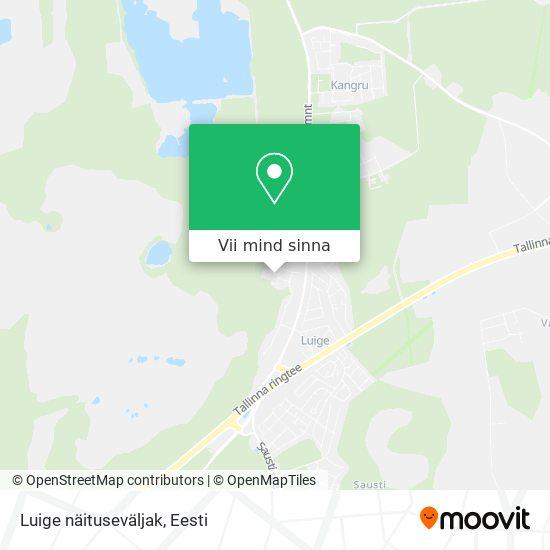 Luige näituseväljak kaart
