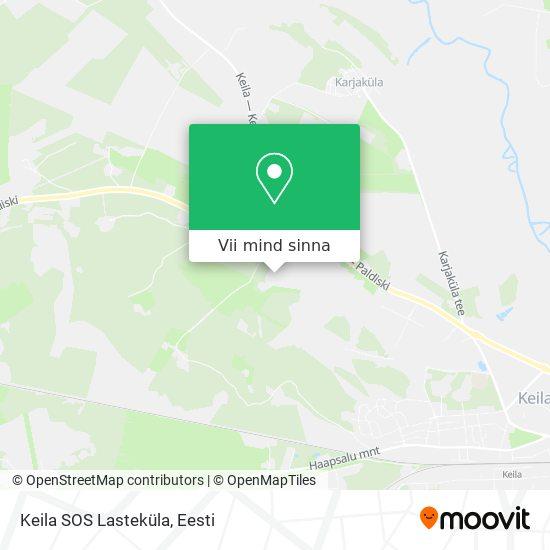 Keila SOS Lasteküla kaart