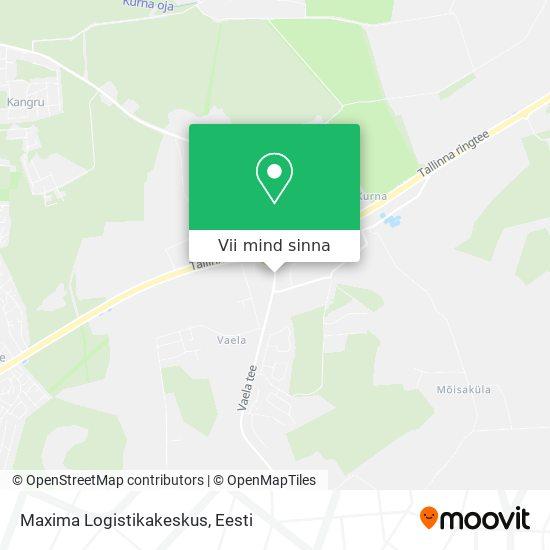 Maxima Logistikakeskus kaart