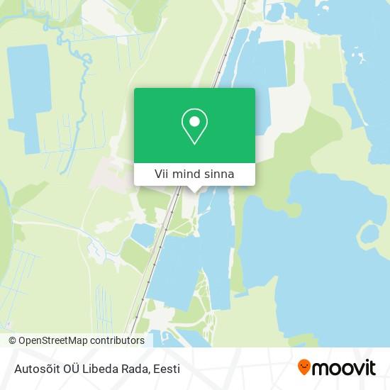 Autosõit OÜ Libeda Rada kaart