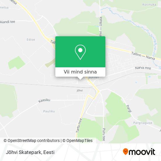 Jõhvi Skatepark kaart