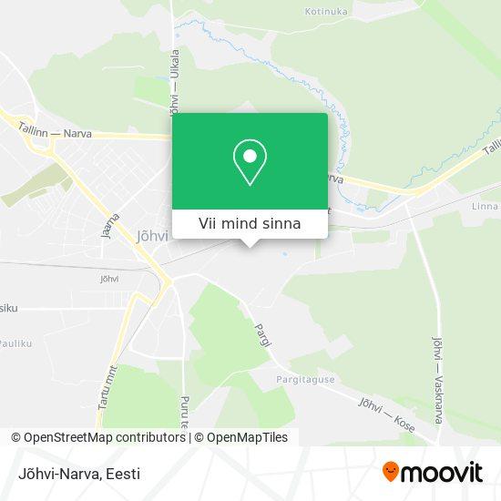Jõhvi-Narva kaart