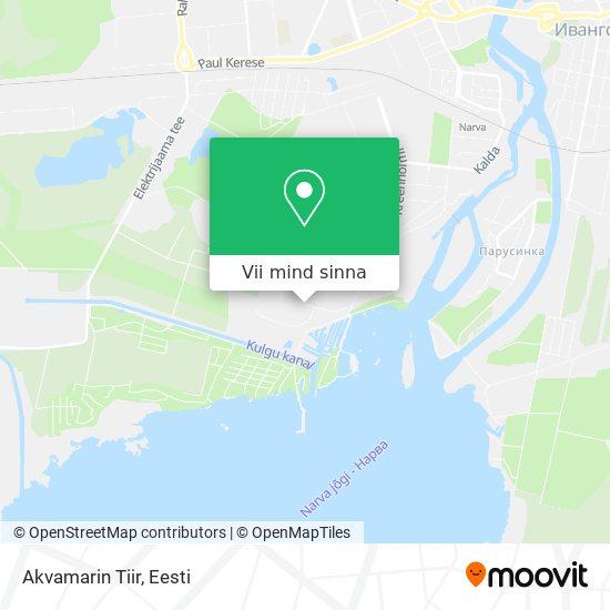 Akvamarin Tiir kaart