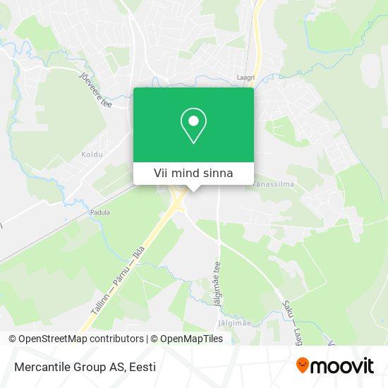 Mercantile Group AS kaart