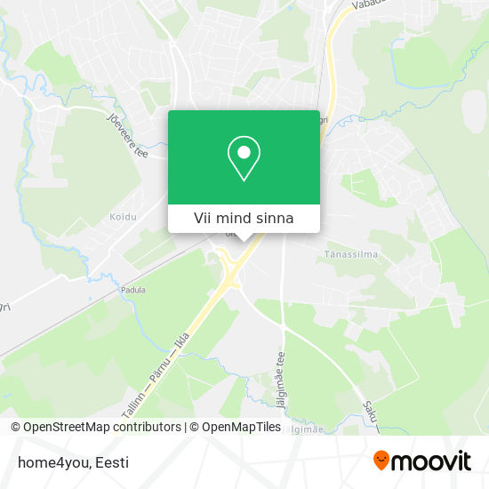 home4you kaart