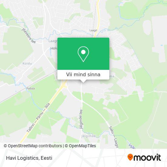 Havi Logistics kaart