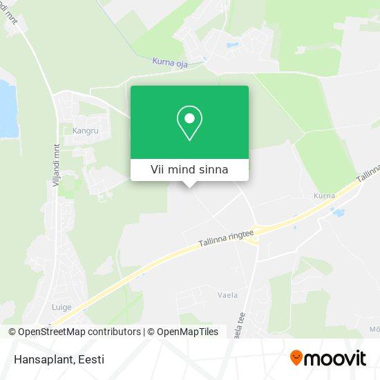 Hansaplant kaart