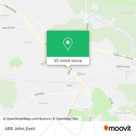 ABB Johvi kaart