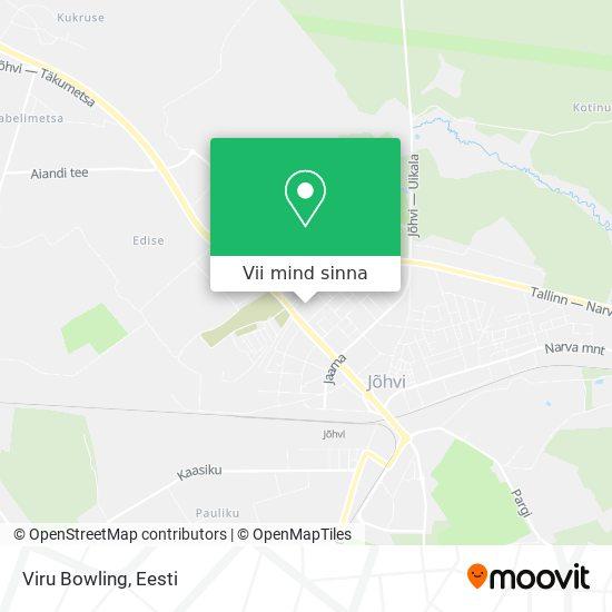 Viru Bowling kaart