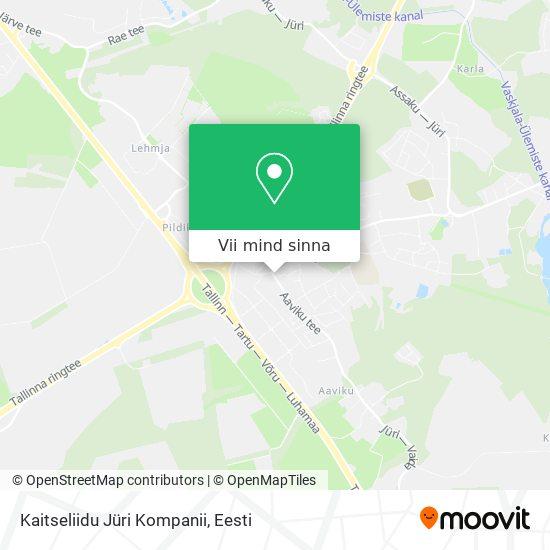 Kaitseliidu Jüri Kompanii kaart