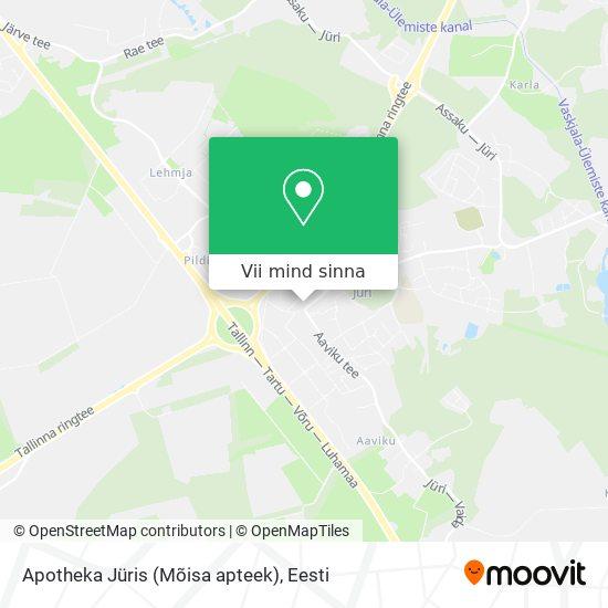 Apotheka Jüris (Mõisa apteek) kaart