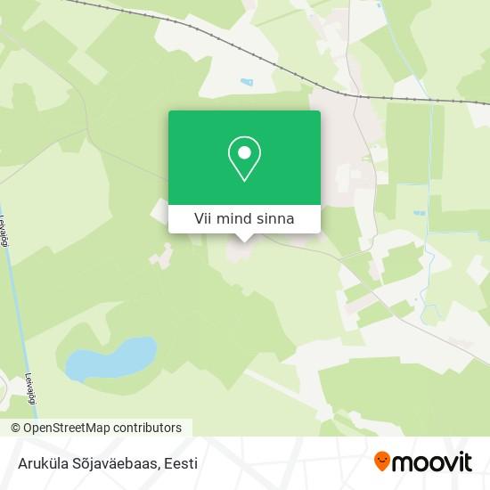 Aruküla Sõjaväebaas kaart