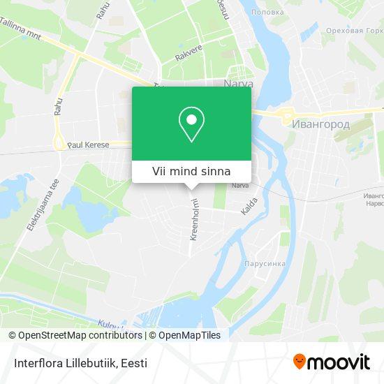 Interflora Lillebutiik kaart
