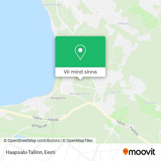 Haapsalu-Tallinn kaart