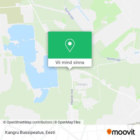 Kangru Bussipeatus kaart