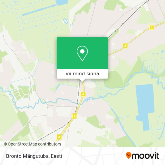 Bronto Mängutuba kaart