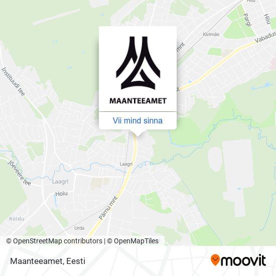 Maanteeamet kaart