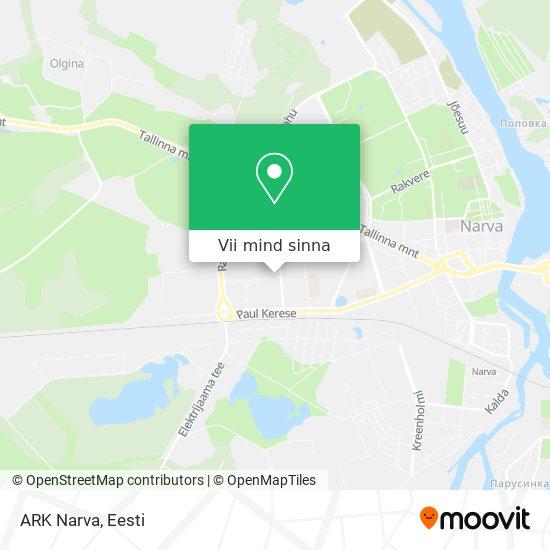 ARK Narva kaart