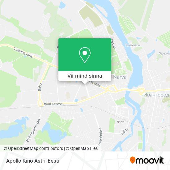 Apollo Kino Astri kaart
