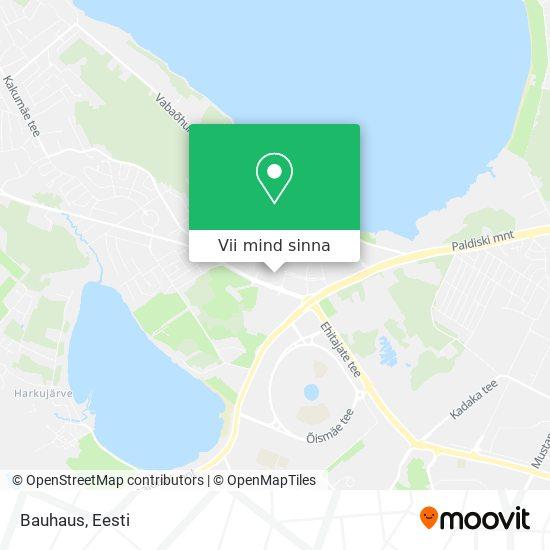 Bauhaus kaart