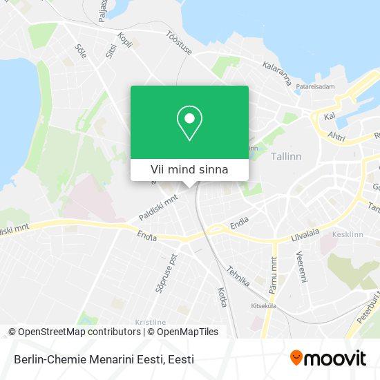 Berlin-Chemie Menarini Eesti kaart