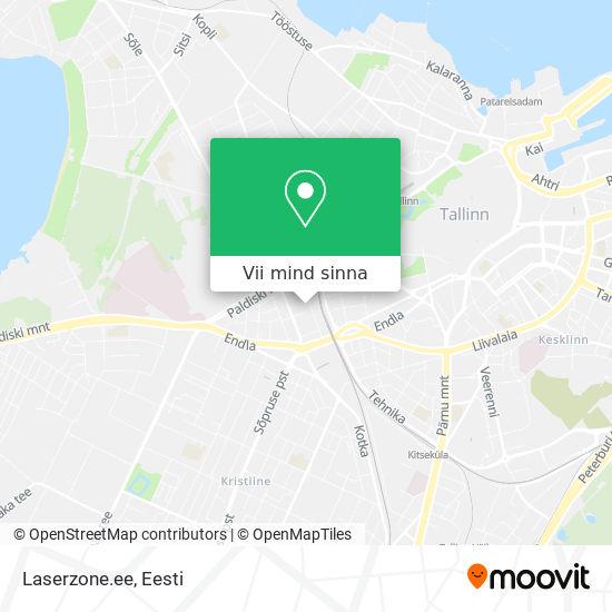 Laserzone.ee kaart