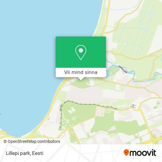 Lillepi park kaart